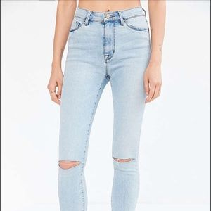 BDG high rise twig crop jeans
