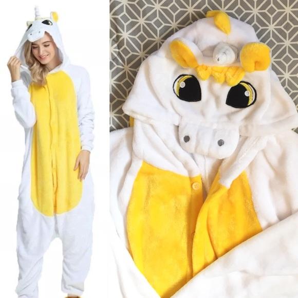 super soft cute unicorn onesie snuggly fun