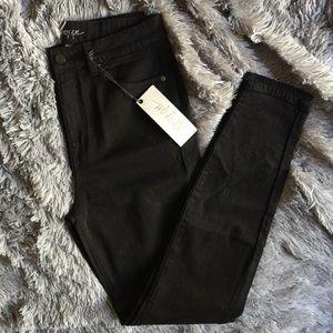 Nasty Gal Black Denim Skinny Jeans
