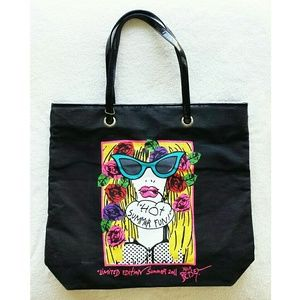 Betsey Johnson Limited Edition Tote Bag Purse NWOT