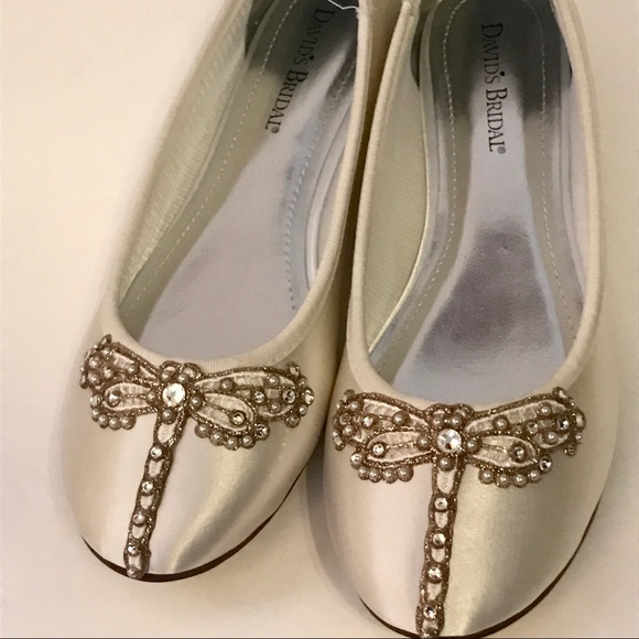9eaf0c0dbf5a69 Wedding Shoes Bridal Flats Dragonfly Custom New