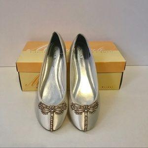 697eb0d09d8ee6 David s Bridal Shoes - Wedding Shoes Bridal Flats Dragonfly Custom New