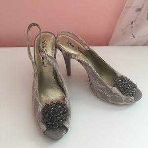 Vintage Lace heels