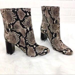 53285f028f45d Tory Burch Shoes - NIB Tory Burch Devon Snakeskin Ankle Boots
