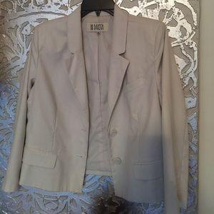 BB Dakota white blazer