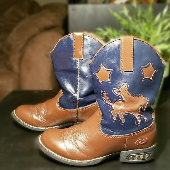 06daf00615d Little boys light up cowboy boots