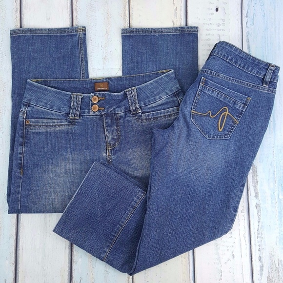 6f396a2c20e65 Apt. 9 Pants   2 Pairs Capri Jeans Momento Apt 9 Womens 4   Poshmark