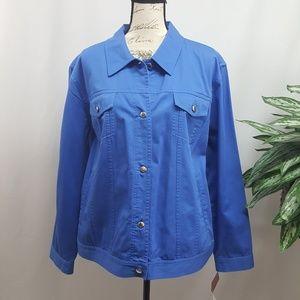 Vintage Plus Size Chaps Denim Jacket 3X NWT