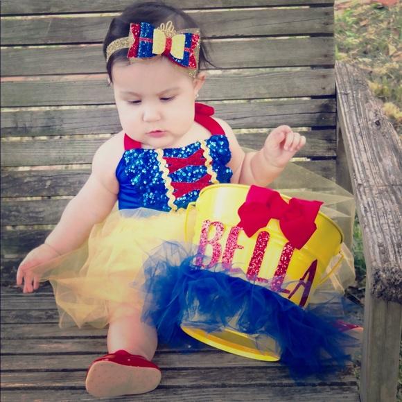 f40954bc3 Dresses | Snow White Costume For Baby Girl | Poshmark