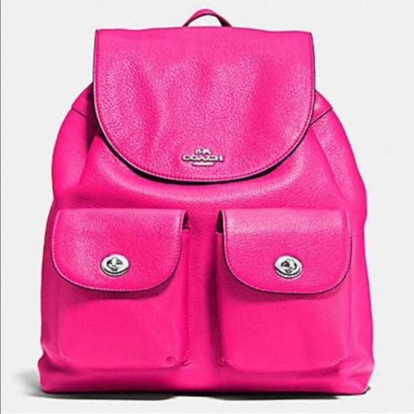 f933a9e384f6 NWT COACH BILLIE BACKPACK 37410