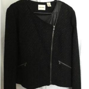 DKNY Jacket Black Sparkle Blazer