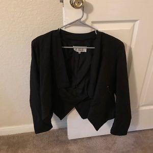 BB Dakota black blazer size 8 medium.