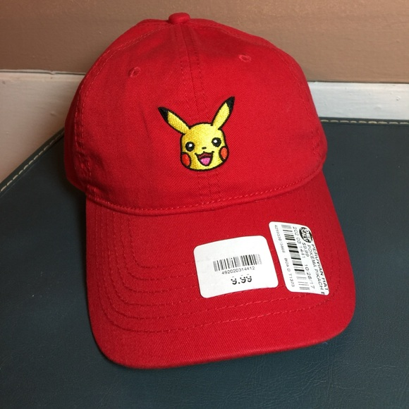 60680f8c0cd Pokémon Pikachu Dad Hat