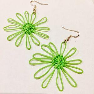 Jewelry - 🦄Handmade telephone wire earrings | BNWOT🦄