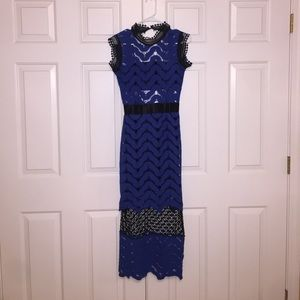 Dresses & Skirts - BOGO50%: Brand new blue and black dress