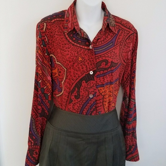 Ellen Griswold Blouse For Sale 21th Blouse Wearing