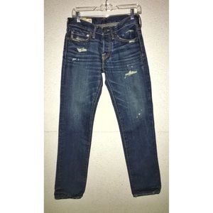 Like New AnF Skinny Fit Denim Jeans