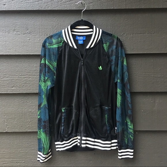 289a5e07549 adidas Jackets & Blazers - Women's Adidas Hawaii Superstar Mesh Track Jacket