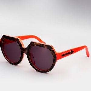 Karen Walker Fight On Tortoise Sunglasses