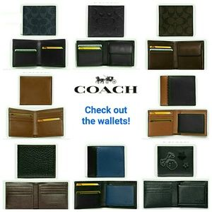Need a wallet?  Check out my closet for styles!!!