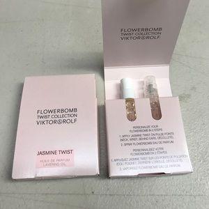 Flowerbomb twist jasmine viktor rolf parfum set x2