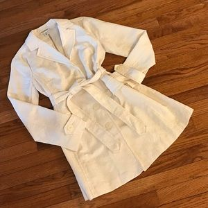 Cream Jaquard Maternity Jacket/Coat