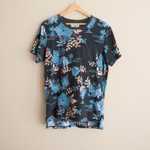 On the Byas Floral Pocket Tee