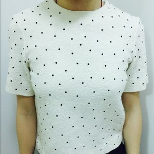 Superb COS Short-Sleeve Fall/Winter Top