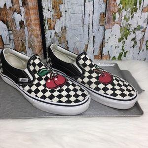 Vans Shoes | Vans Cherry Checkerboard