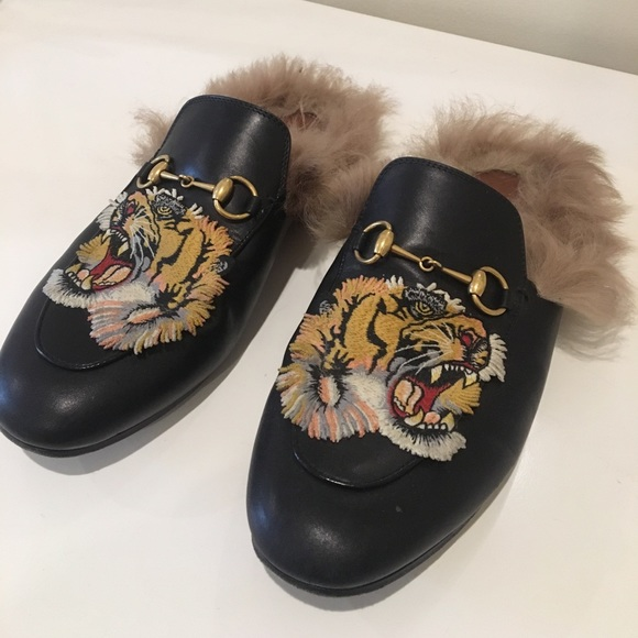 22a756a06109 Gucci Shoes - Gucci fur slides