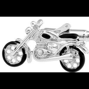 Men's Cuff Links motorcycle 🎉🎉🎉HP🎉🎉🎉