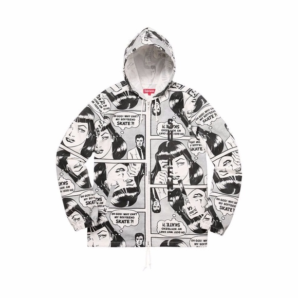 0edc1b9462ef Supreme   Thrasher Boyfriend Hooded Zip Up Jacket