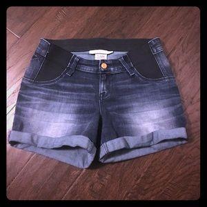 LizLange Maternity Jean Shorts