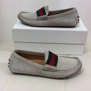 c806837e232 Gucci Shoes - Gucci Kids Beige Loafers  Moccasins