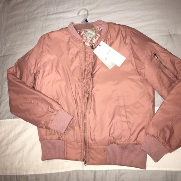 a4752f626 Dusty Pink Bomber Jacket 🎀