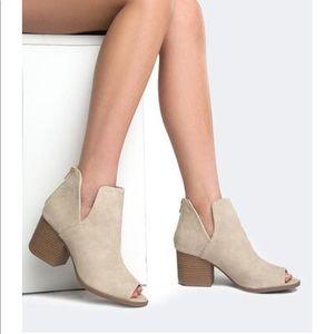 Shoes - J. Adams Cut Out Peep Toe NIB Sz 7.5
