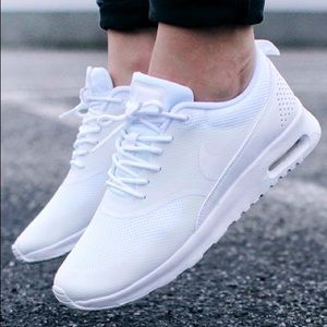 nike shoes  womens air max thea casual white  poshmark