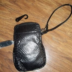 Handbags - Black Wristlet. NEW
