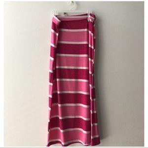 🧚♀️2 FOR $15🧚♂️ New Stripe Maxi Skirt