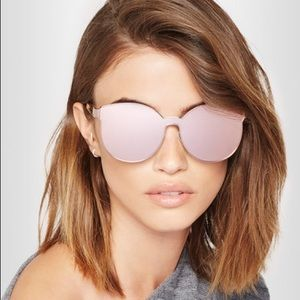 Karen Walker Rose Gold Star Sailor Sunglasses