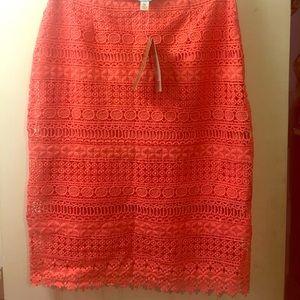 Dresses & Skirts - Crotchet Midi Skirt