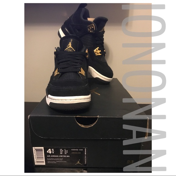 d65bf897c81 Nike Air Jordan Retro 4 Royalty GS