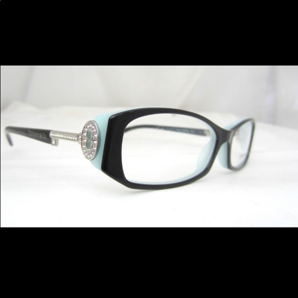 282cb7abce7c Tiffany   Co crystal key stem eyeglasses PERFECT. M 5a050bb6d14d7bd38405a374