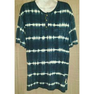Urban Outfitters Koto XL Tie Dye Henley T-shirt