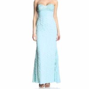 NWT JS Collections Strapless Petal Dress Sz 4/6