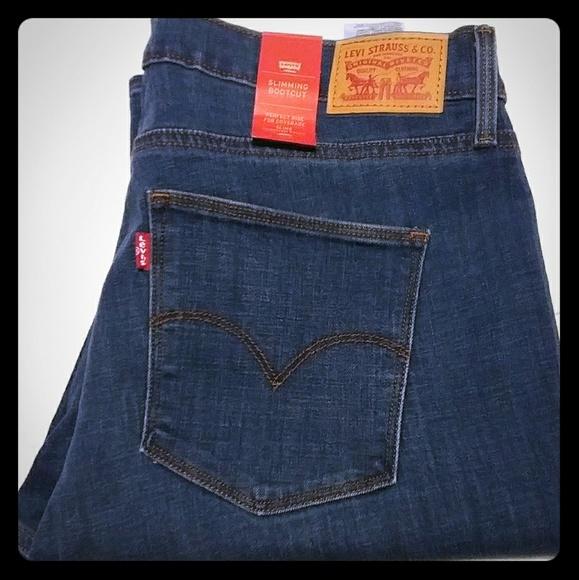 aa23417c512 Levis Jeans | Slimming Womens Nwt | Poshmark