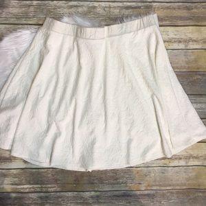 Torrid Ivory A Line Skater Skirt