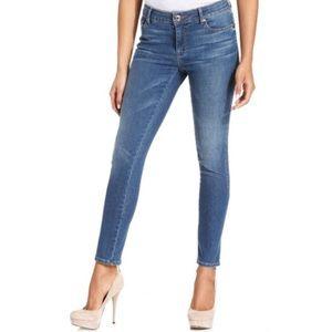 rachel by rachel roy • medium wash skinny jeans