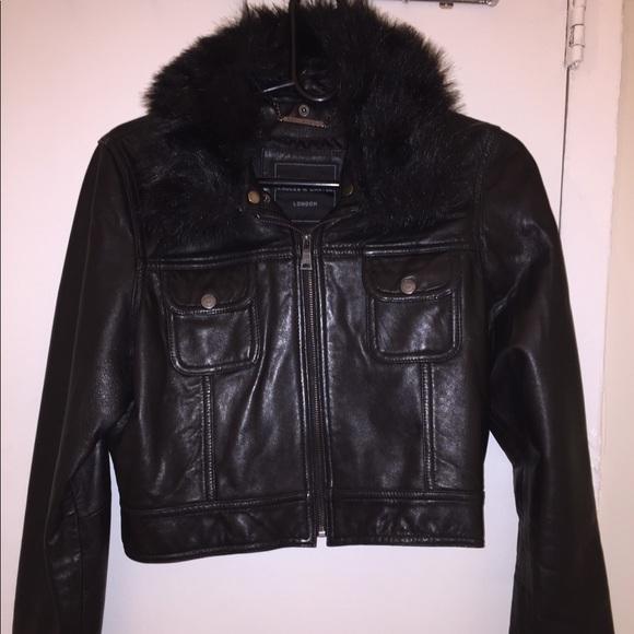 1158a199e7653 Knoles   Carter Leather woman s jacket