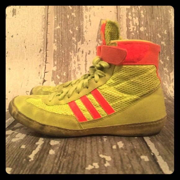 new concept 443e3 3db38 ... new zealand boys adidas wrestling shoes size 5 97790 31145